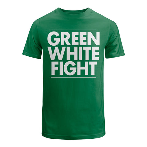 Green White Fight Shirt