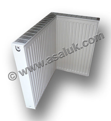Right Angled Radiator with convector