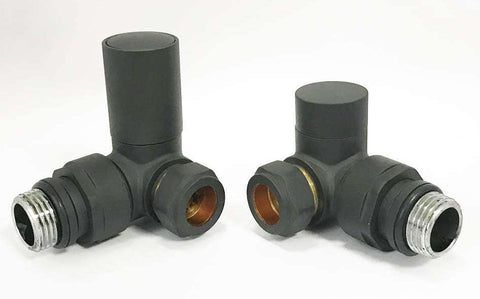 Anthracite Non Thermostatic Corner Valves