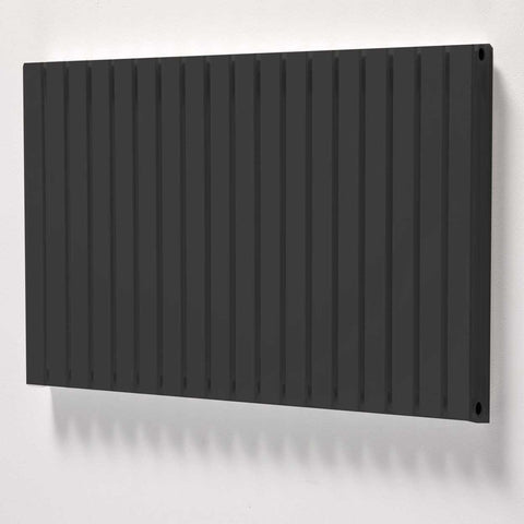 Linear Horizontal Black ,  - ASAL UK RADIATORS