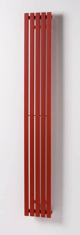 Linear Vertical Red ,  - ASAL UK RADIATORS