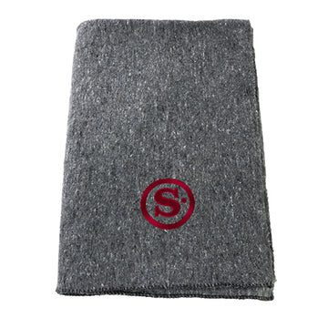 Swiss Link Wool Utility Blanket - S Dot