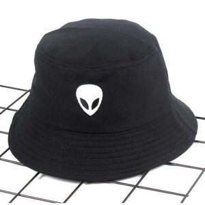 Alien Bucket Hat Reversible Hip Hop Cap Alien Hats