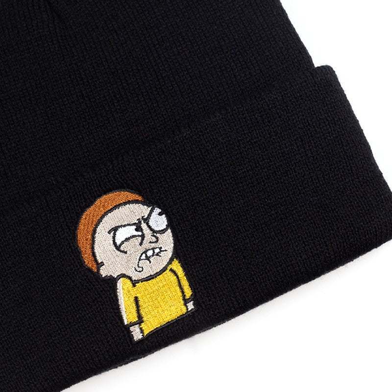 Angry Morty Beanie Rick and Morty Knitted Hat