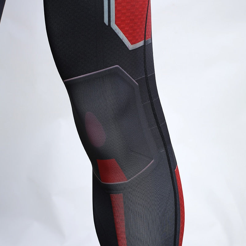 Ant Man Avengers 4 Endgame 3D Printed Compression Tights Pants Men 2019