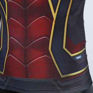 Avengers 4 Spider Man 3D Printed Long Sleeve Compression T-Shirt