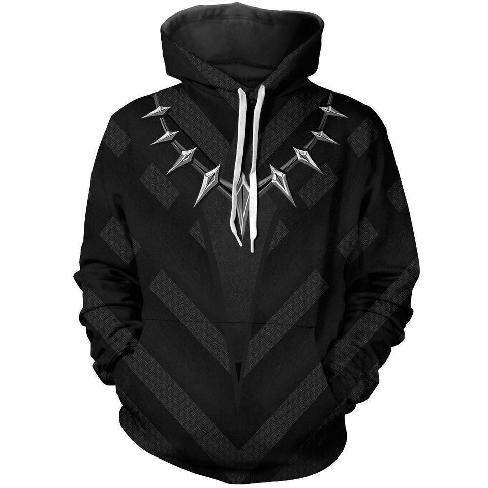 Avengers 3 Infinity War Sweater Black Panther Man 3D Hoodie