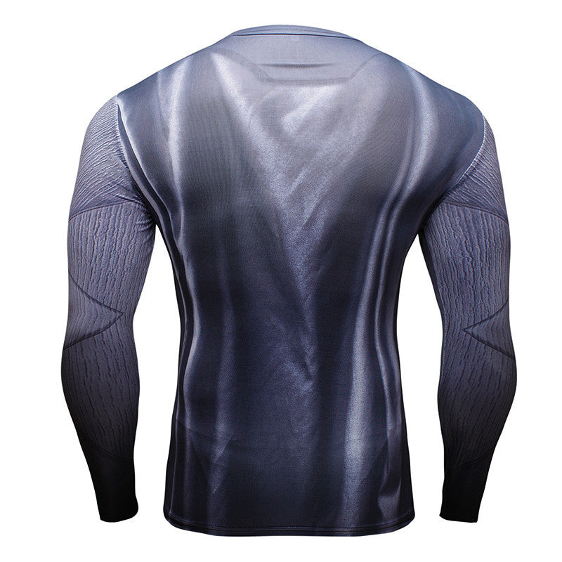 Batman Long Sleeve Compression Shirt (Batman 3d Tshirts) - Newmeup