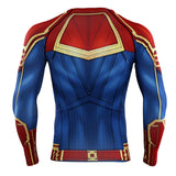Red Captain 3D Printed T shirts Men Compression 2019 Tops Male Comics Cosplay Costume