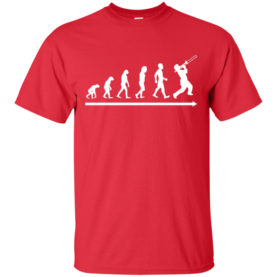 Evolution of Trombone Player Awesome Musician Gift T-Shirt - Newmeup