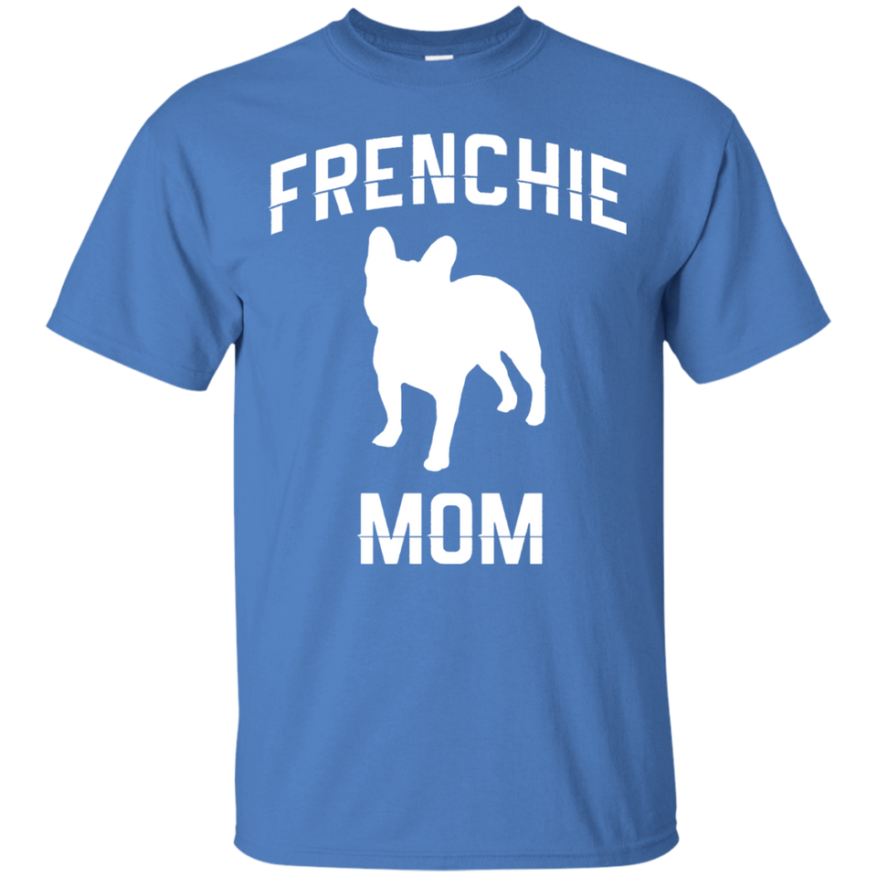 Women's French Bulldog Frenchie Mom Mama Dog Lover T-shirts - Newmeup