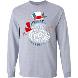 Nobodys Walking Out Funny Family Christmas Sweatshirt Black - newmeup