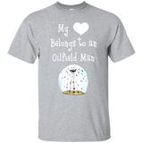 My Heart Belongs to an Oilfield Man Tradesman T-Shirt