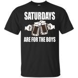 Mens Saturdays Are for the Boys T-shirt