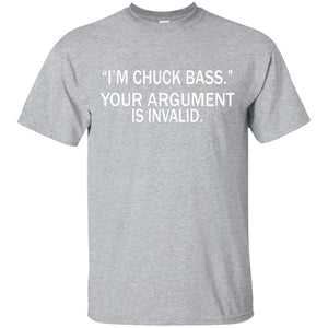 I'm Chuck Bass (white) T-Shirt