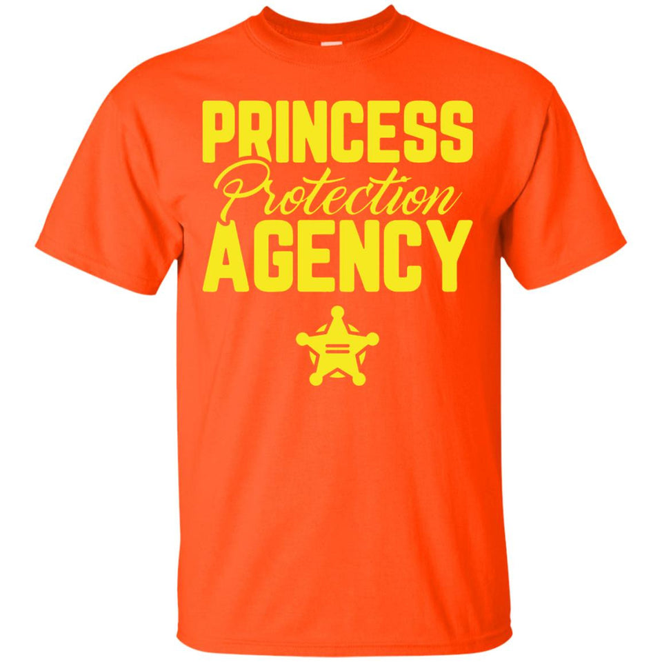 Princess Protection Agency Father's Day T-Shirt Dad Mom Gift