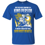 Dragon Ball Z Shirts Men's Goku Vegeta Super Saiyan Show Mercy In Battle T-Shirts