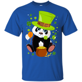 Shamrock Leprechaun Panda Happy St Patricks Day Shirt