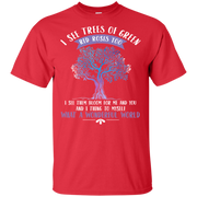 I See Trees Of Green Red Roses Too Hippie T shirt