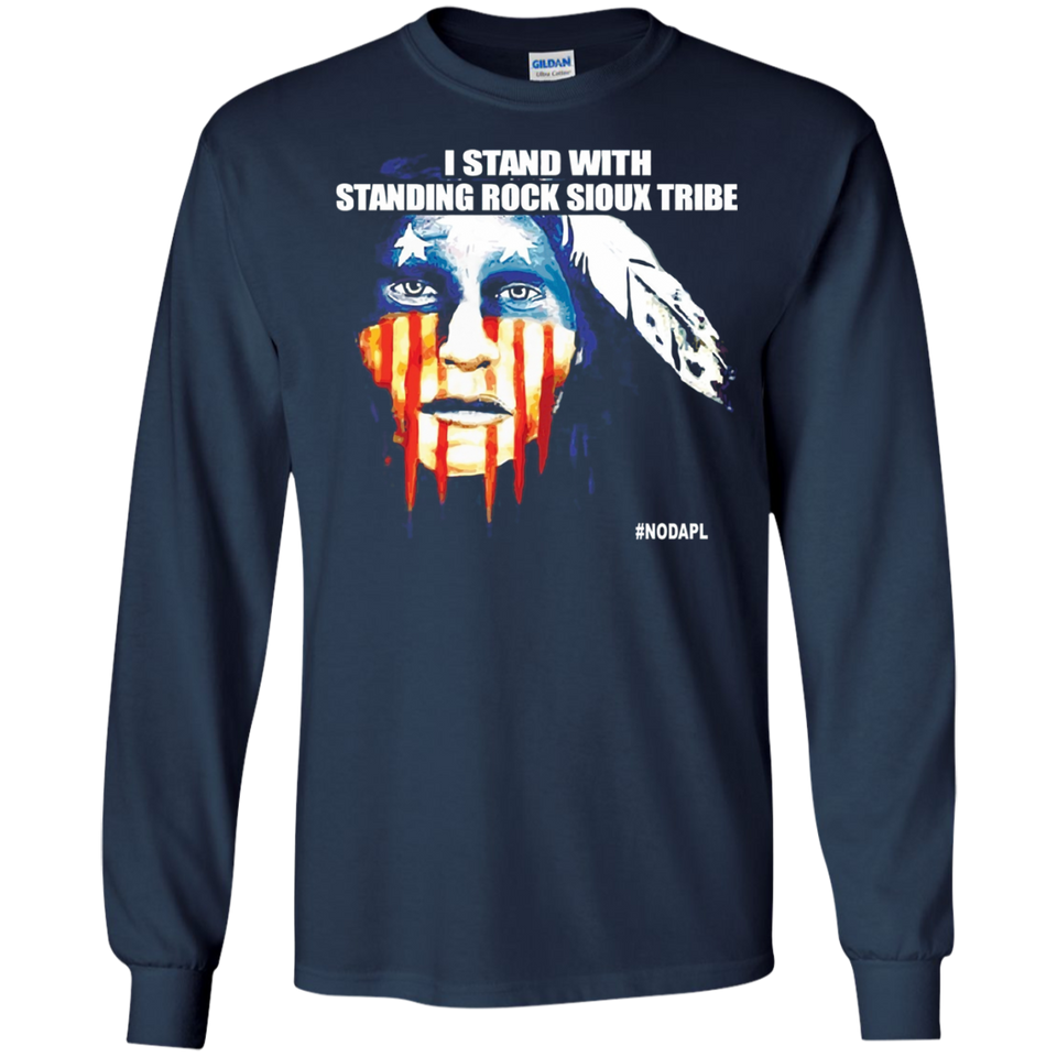 Stand With Standing Rock Sioux Tribe NoDAPL SWEATSHIRT - newmeup