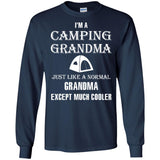 Camp shirt women - Camping grandma is cooler - Newmeup