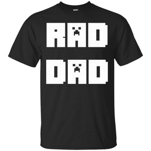 Mens Rad Dad - Father's Day Video Game T-shirt - Happy Birthday