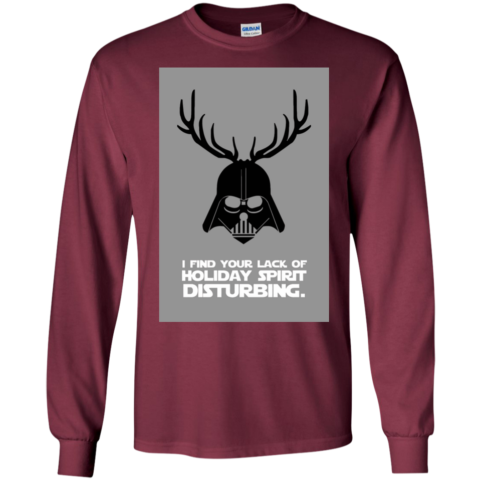 I Find Your Lack Of Cheer Disturbing Sweatshirt - newmeup