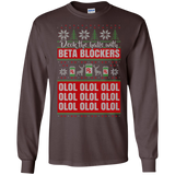 Christmas Nurse T-Shirt - Deck the Halls with Beta Blockers SWEATSHIRT - Newmeup
