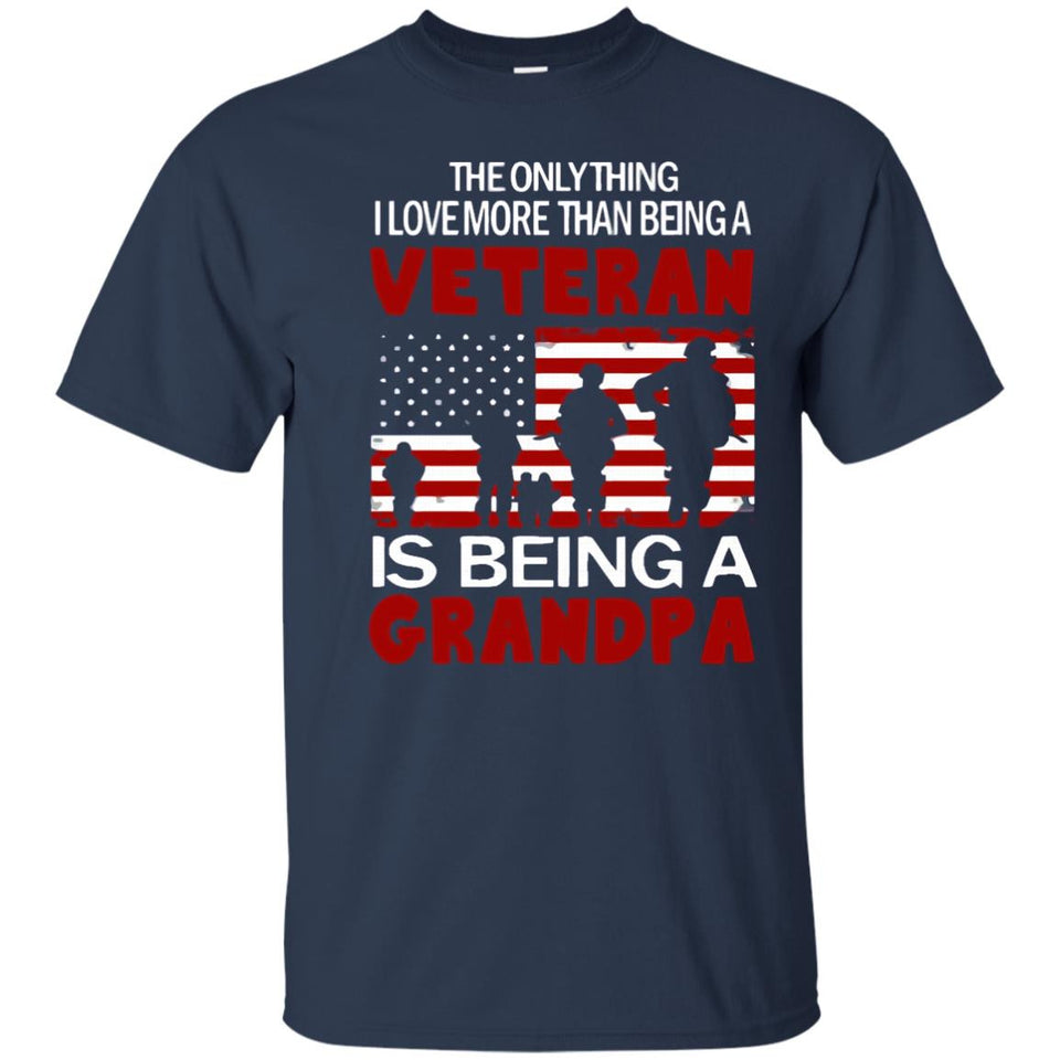 Proud Veteran Grandpa T Shirt