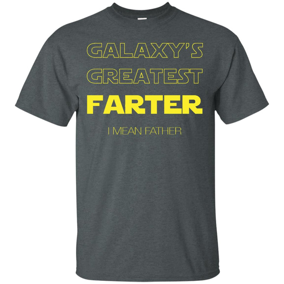 World's Greatest Farter, I Mean Father - Cool TShirt For Dad - Newmeup