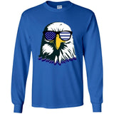 Bald Eagle With Sunglasses T-shirt for Independence Day - Newmeup