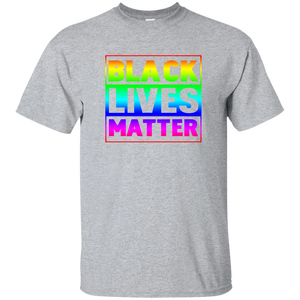 Black Lives Matter Rainbow Flag T Shirt, LGBT Shirts - Newmeup
