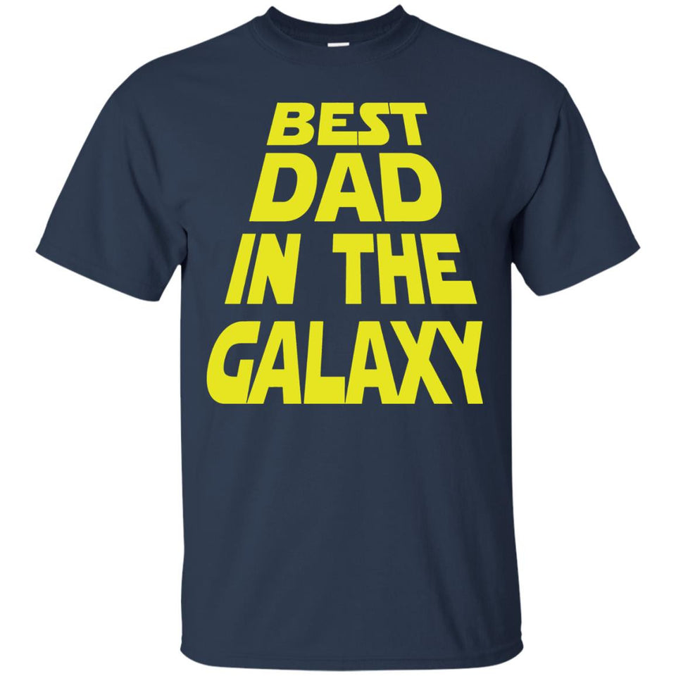 Men's Best Dad in the Galaxy Tshirt