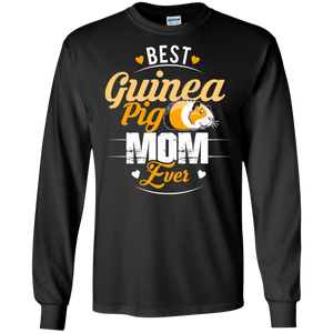 Women's Guinea Pig Mom Best Mother Mommy Ever Funny Gift LS Sweatshirts