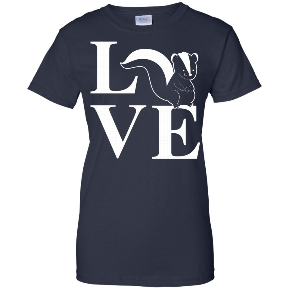 Love Skunks Shirt - Funny Skunk Animal Lover Gift Tee