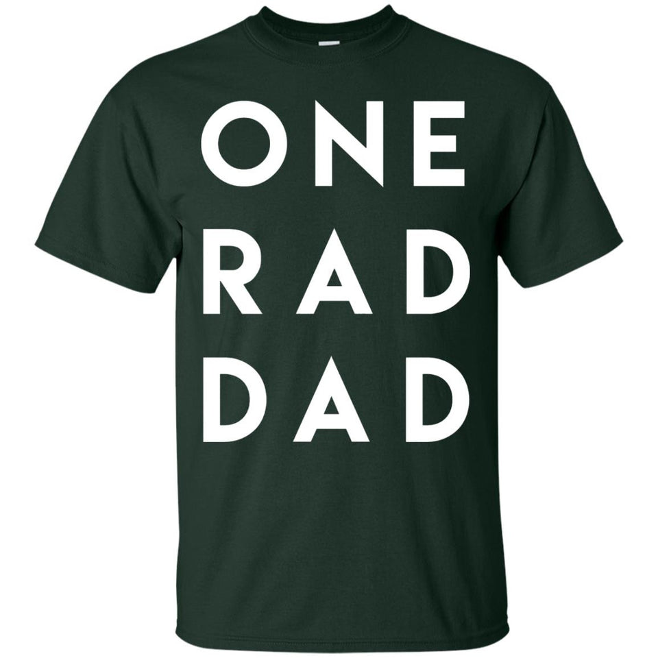 Men's One Rad Dad Shirt, Father's Day Gift for Daddy