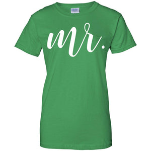 Mens Mr Tshirt. Tee. Shirt. Mrs Tshirt Set. Just Married.