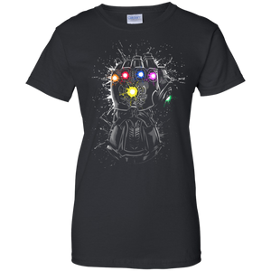Thanos T-shirt Women's Thano Infinity Gauntlet T-Shirt