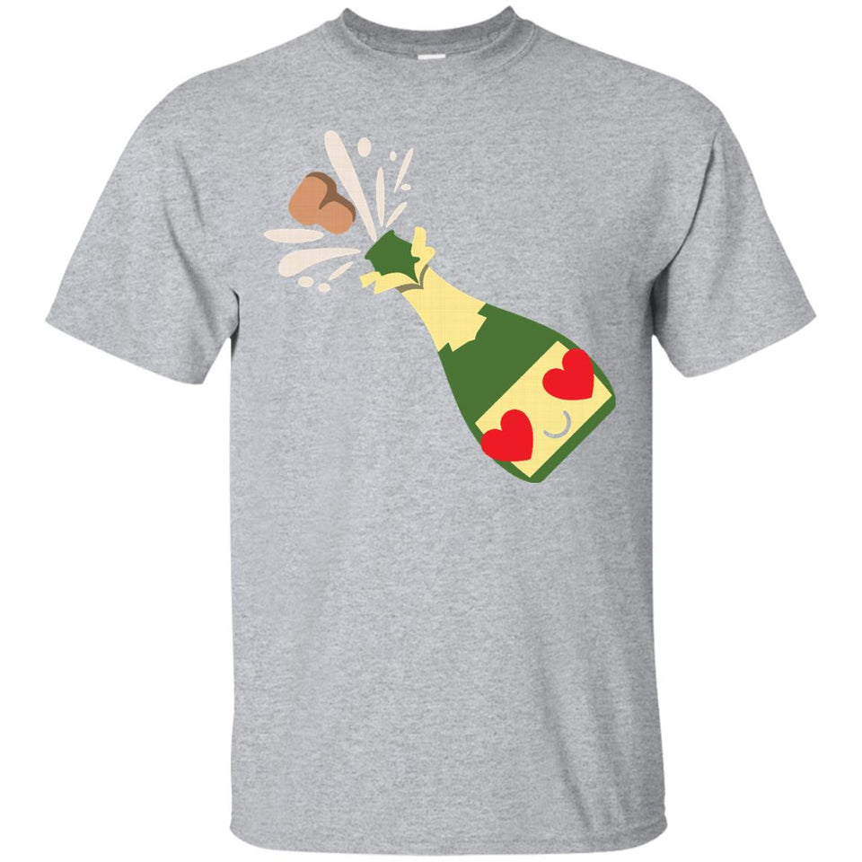 Pop Champagne Emoji Heart _ Love Eye Shirt T-Shirt Tee
