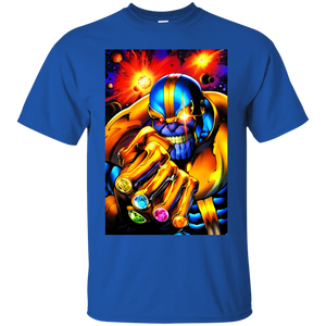 Thanos Shirt Men's Thanos by Mark Bagley T-shirts