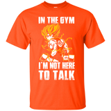 Dragon Ball Z Shirts Men's Goku's Gym Train Insaiyan DBZ Workout Shirts