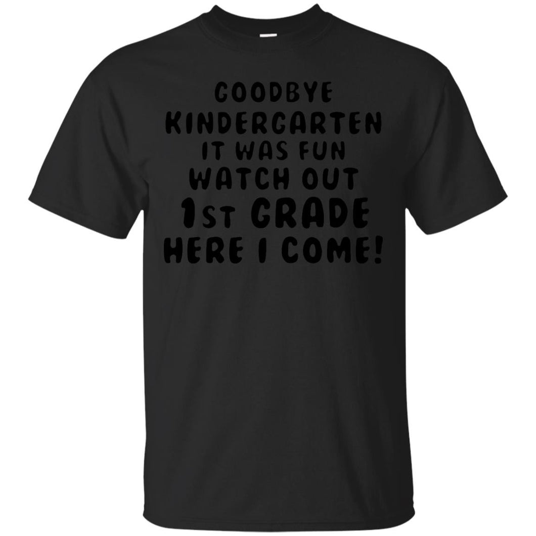 Kindergarten Graduation Tshirt Moving on to 1st Grade