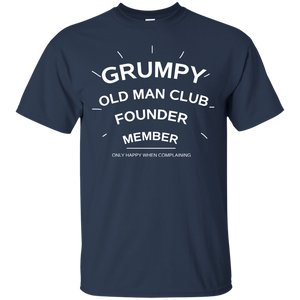 Men's Grumpy Old Man Club Funny Great Gifts T-Shirt
