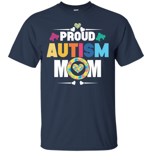 Proud Autism Mom T Shirt