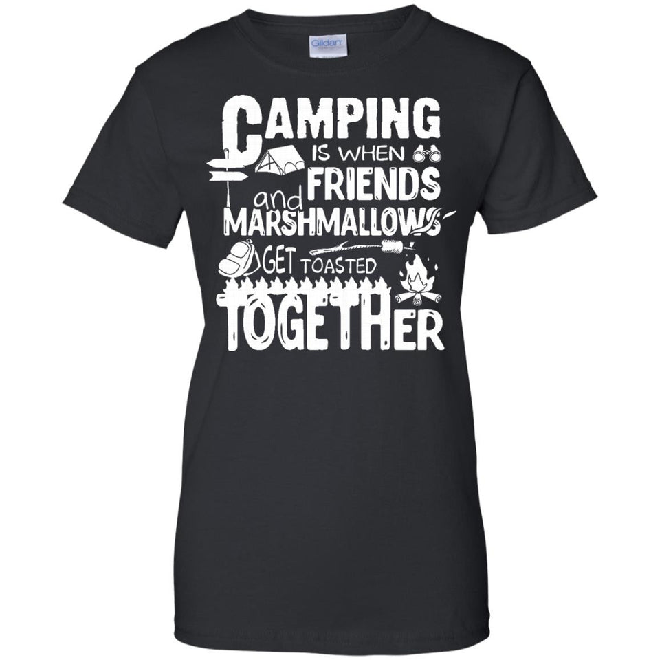 Funny Camping Lovers Gifts Shirt Camping With Friends Gifts