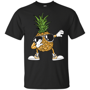 Aloha Beaches Hawaii Dabbing Pineapple Sunglasses Shirt