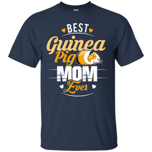 Women's Guinea Pig Mom Shirt - Best Mother Mommy Ever Funny Gift