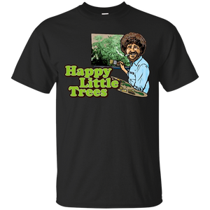 Bob Ross Happy Trees TEE - Newmeup