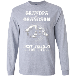 Grandpa and Grandson Best Friends For Life SWEATSHIRT - newmeup