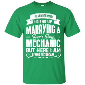 Mechanic tshirt, i love my super sexy Mechanic - Newmeup